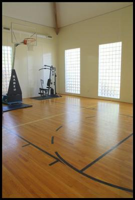 Knoxville home for sale with indoor basketball court for Indoor basketball court for sale