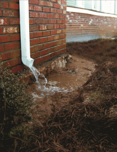 Drainage issues in Knoxville homes