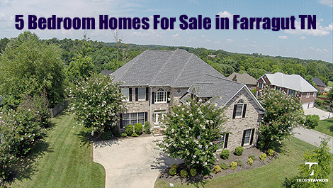 bedroom homes for sale in farragut tn