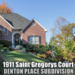 1911 Saint Gregorys Court, Knoxville, TN, 37931 – WEST KNOXVILLE!
